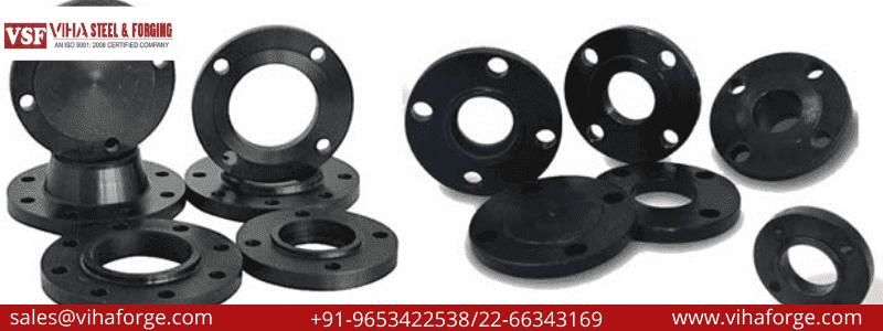 ASTM A694 F42 F52 F60 F65 F46 F48 F50 F56 F70 Carbon Steel Flanges